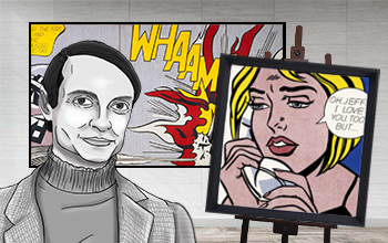 Roy Lichtenstein Biography, Art & Analysis
