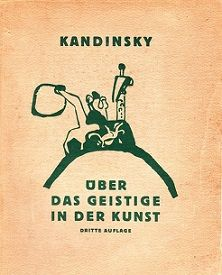 Original cover from Kandinsky's book <i>Concerning the Spiritual in Art</i> (1910)