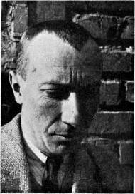 <i>Hans Arp</i> (c. 1925), by an unknown photographer, shows the artist in a 1926 issue of <i>De Stijl</i> that featured his work.