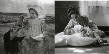 Pictures taken by Maurice Denis of his wife and his children (c. 1906)