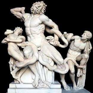 <i>Laocoön and His Sons</i> (40-30 B.C.E.) was an early model for Mannerist treatments.