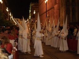 Brotherhood Penitents during Holy Week, Seville