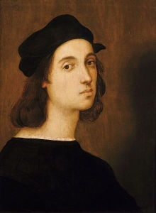 Self-portrait, (circa 1544), Oil on Panel, Uffizi Gallery, Florence, Italy