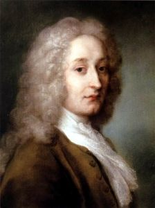 Rosalba Carriera's <i>Portrait of Antoine Watteau</i> (1721) depicts the artist in the last year of his life as he died from tuberculosis at the age of 36. The work also exemplifies the pastel portraits pioneered by Carriera.