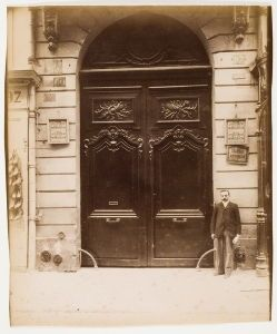 Eugène Atget, <i>Porte, 97 Rue du Bac, Hôtel de Ségur</i>, 1903 Atget's street photographs offer us an unmatched and precious record of Paris as it was over a century ago.
